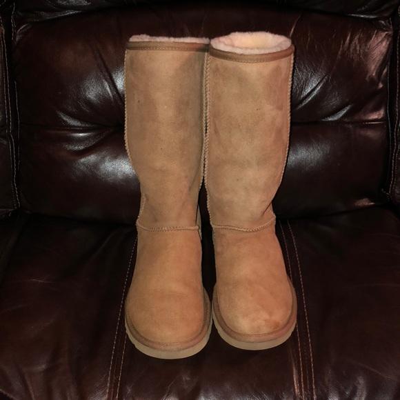2adfd44e73a Tall Chestnut Ugg boots!! Women's size 6!